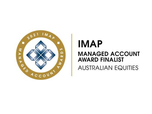 Blackmore Capital - IMAP Managed Account Award Finalist - Australian Equities