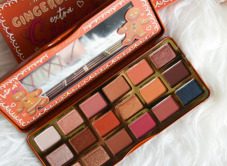 Gingerbread Extra Spicy Too Faced | Review & Swatches