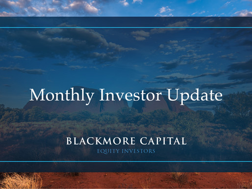 Monthly Investor Update - April 2021