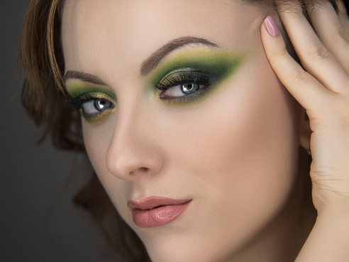 Look potente en verdes | Green Makeup