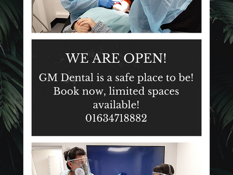 Now You Can Book Appointments at GM Dental and Implant Centre! We Are Open 🎉🎉🎉