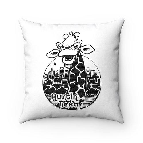 LuvYerNayBer Draff 2-sided Throw Pillow