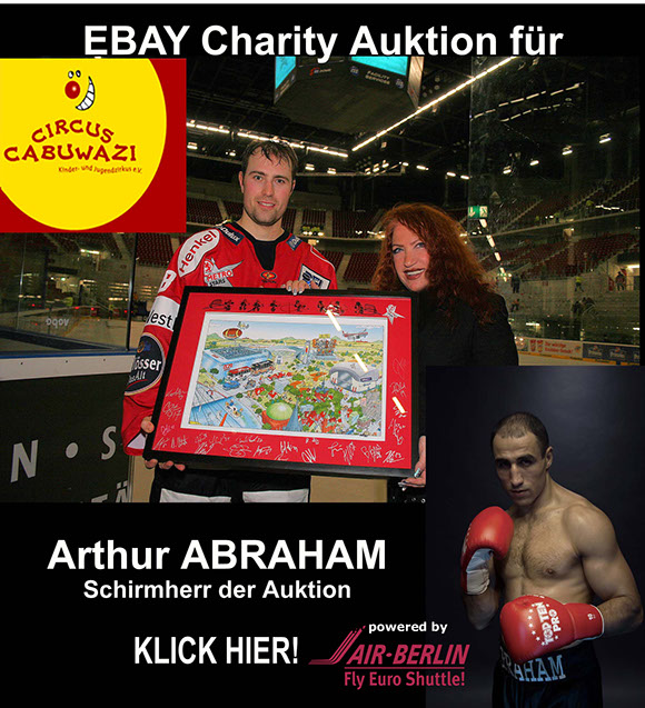 Charity Auction with Arthur Abraham and
