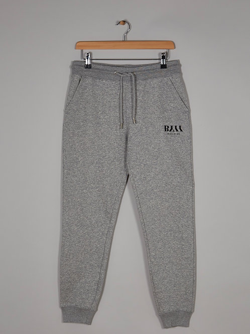 BY11 Organic Cotton Slim Leg Trackpant - Grey