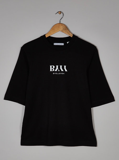 BY11 Organic Cotton Easy Fit T-shirt - Black