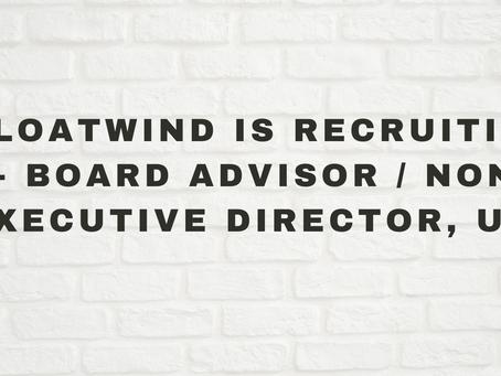 FloatWind is Recruiting - Board Advisor / Non-Executive Director, USA