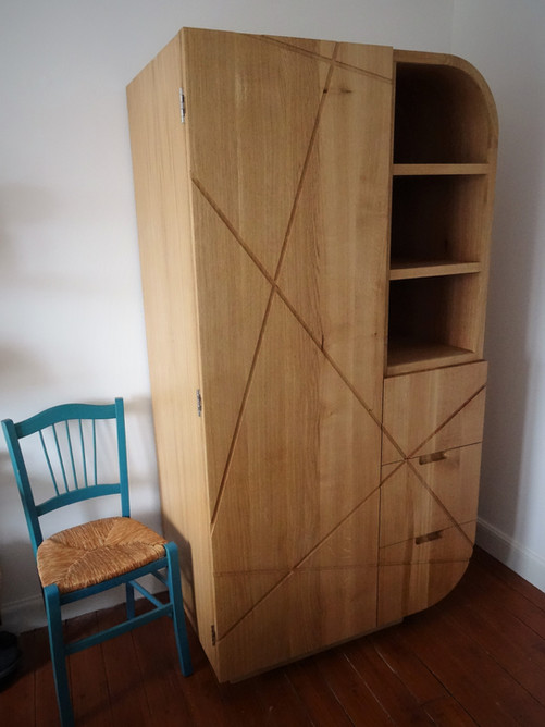 Oak Wardrobe