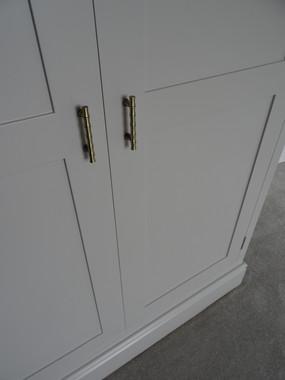 Shaker wardrobe Alan Nisbet Bespoke Furniture
