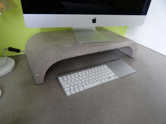 Concrete Desk Alan Nisbet Bespoke Furniture