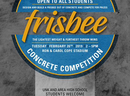 UNK First Annual Concrete Frisbee Competition