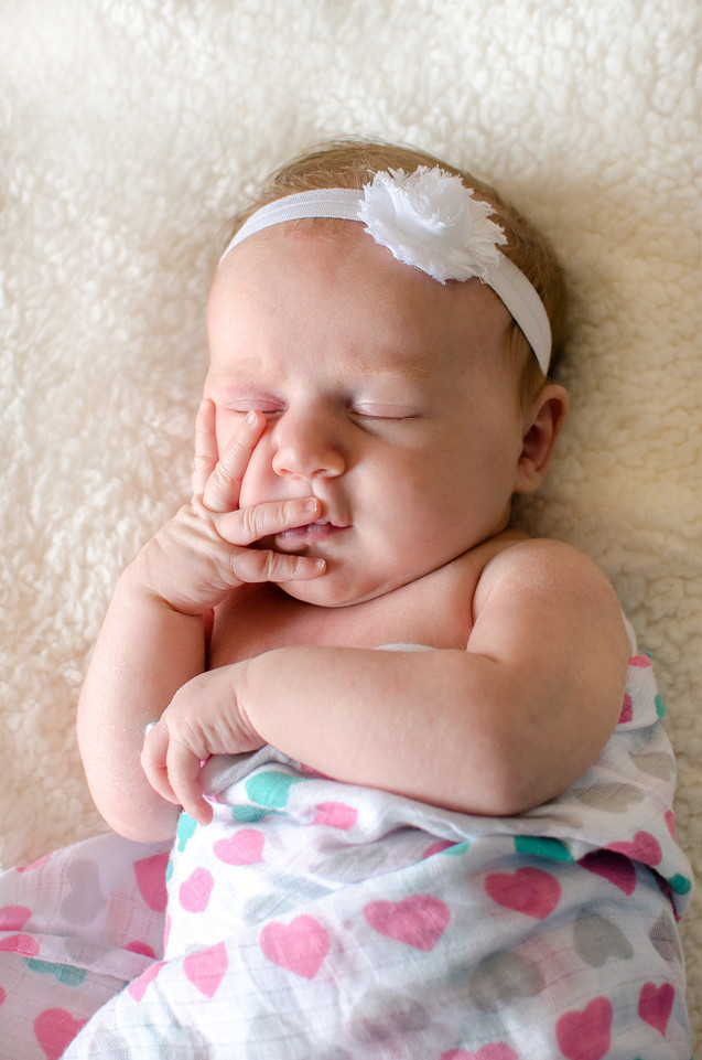 Coeur d'Alene Newborn Portrait
