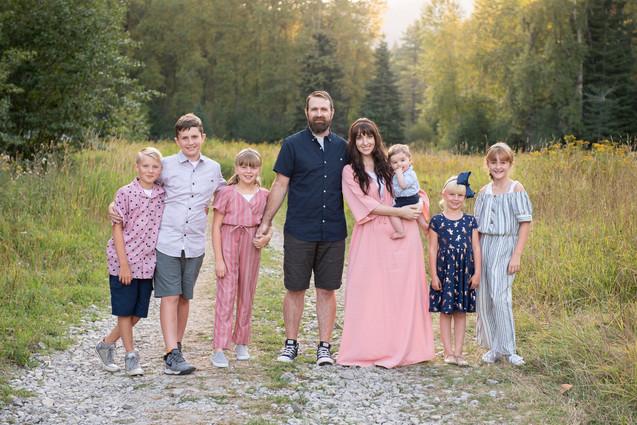 Coeur d' Alene Family Portrait