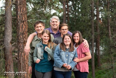 Post Falls Family Portrait