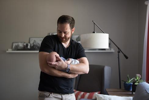 Post Falls Lifestyle Newborn Photography