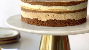 עוגת גבינה ללא אפייה עם שכבות לוטוס
