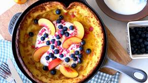 עוגת פנקייק הולנדית, או: Baby Duch Pancake