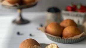 סופגניות מלוחות במילוי גבינות קממבר ומוצרלה