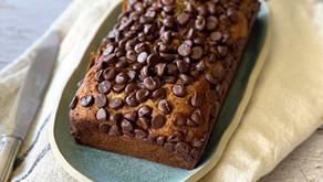 עוגת בננה ושוקולד צ'יפס