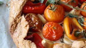 גאלט כוסמין במילוי עגבניות וריקוטה