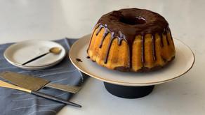 עוגת שיש דלעת שוקולד