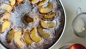 עוגת שיפון ואפרסקים של זואי