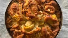קובנה ממולאת בארטישוק, קשיו וגבינת גורגונזולה