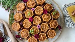 עוגת כוורת דבש וליים