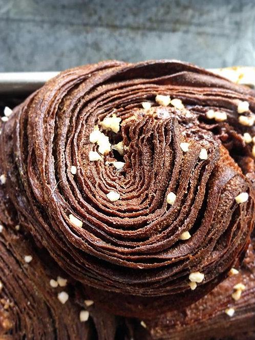בריוש שוקולד כרוך