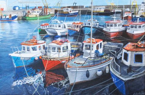 Boats at Kilmore Quay, Wexford