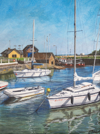 Boats in Courtown