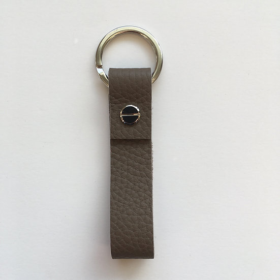 Porte-clés taupe