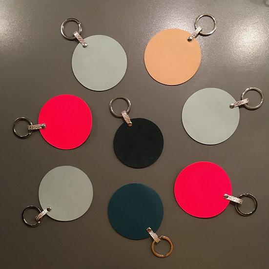 Porte-clés rond à personnaliser