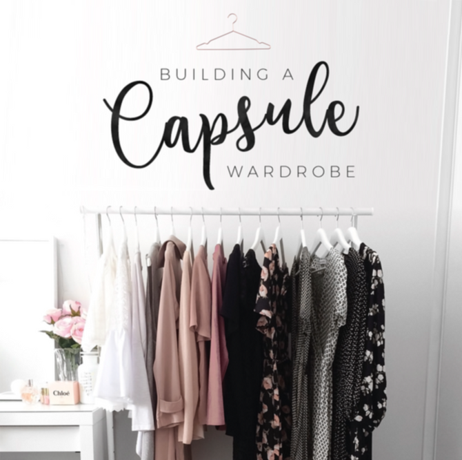 Creating a Capsule Wardrobe...                In Four Easy Steps (Step 1)