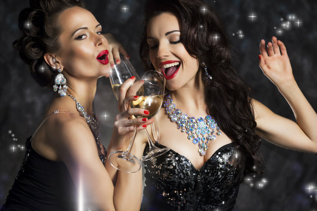 Be the Belle of the Ball this New Year's Eve