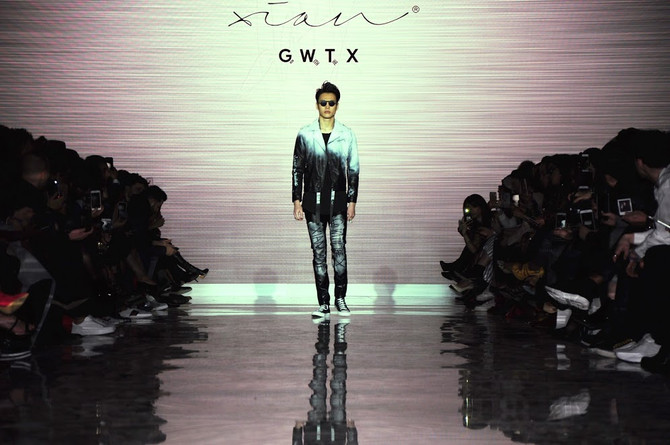 Xian Runway Show Encourages Men to Take Fashion Risks at TOM* FW18
