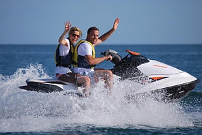 Aqua Watersports jet ski tour