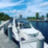 Black Ray is Aqua Watersports Luxury Boat Charter