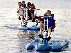 Aqua Watersports Grand Cayman Water Bike Rental