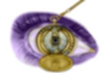 Oog ontwerp voor etalage opticien, foto art Leblanc design | art designer in apeldoorn |