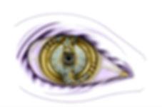 Ontwerp oog voor etalage opticien, foto art Leblanc design | art designer in apeldoorn |
