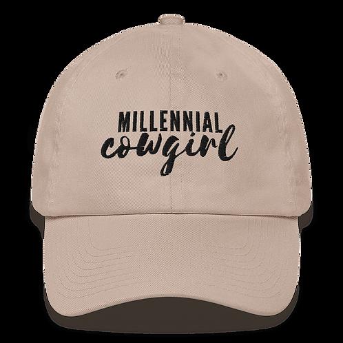 Millennial Cowgirl Dad Hat