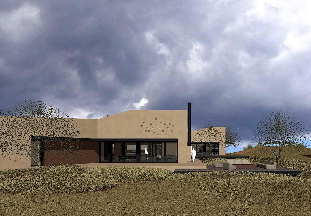 bioclimatic residence, Stavropoulou architects, greek architects