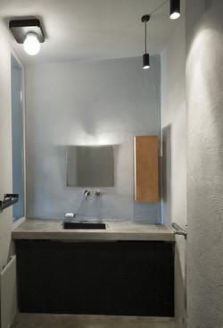 Bathroom renovation, apartment refurbishment, design, flat renovation, Stavropoulou architects, gree