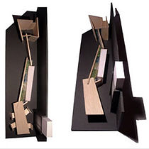 Stavropoulou Architects, Exhibiton stand, model