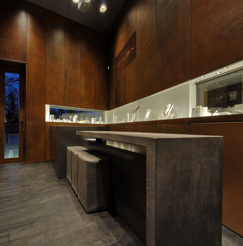 Jewellery shop design, Stavropoulou architects, greek architects