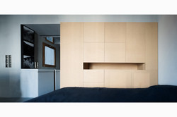 Apartment refurbishment, bedroom design, design, flat renovation, Stavropoulou architects, greek arc