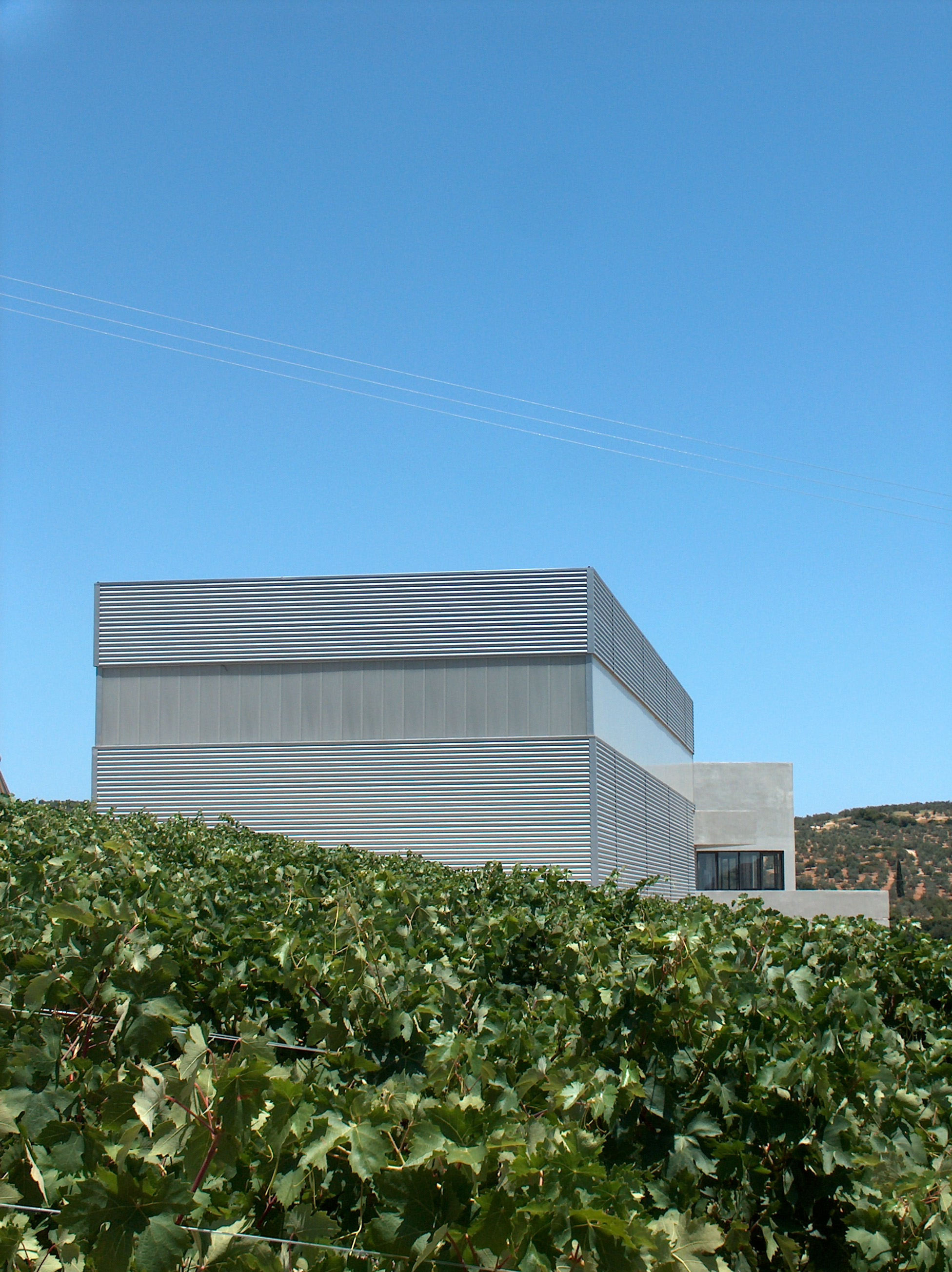 Winery in Ancient Nemea, Peloponnese, Stavropoulou architects