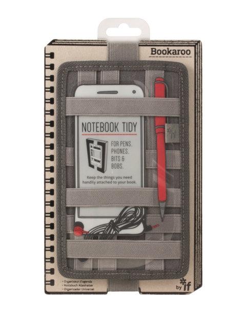 Bookaroo Notebook Tidy - Charcoal