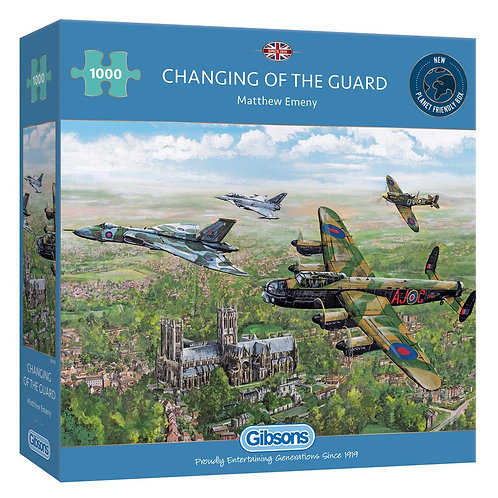 CHANGING OF THE GUARD 1000PC  PUZZLE