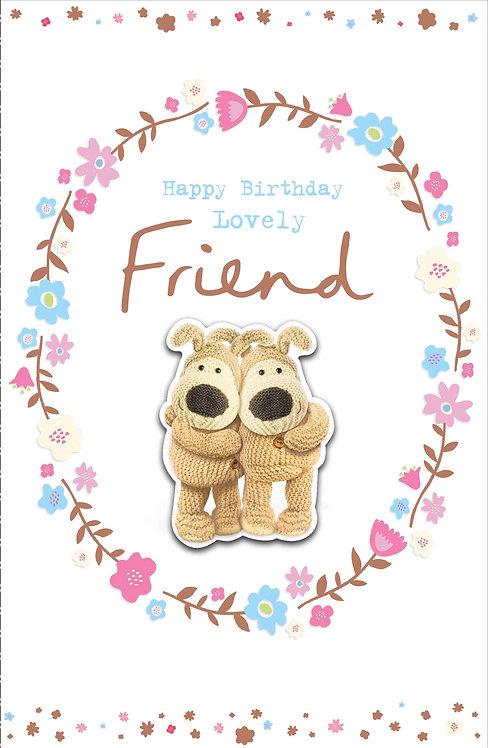 Boofle Happy Birthday Friend